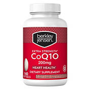 Berkley Jensen 200mg CoQ10 Softgels, 140 ct.