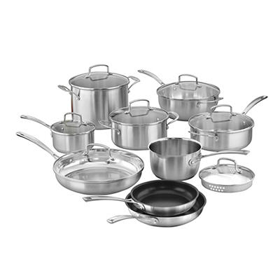 Cuisinart Classic 16-Pc. Stainless Cookware Set
