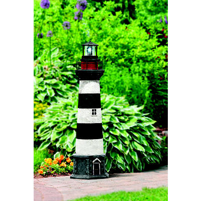 "Berkley Jensen 48"" Solar Lighthouse"