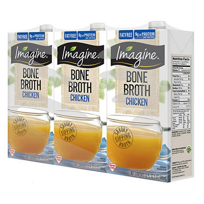 Imagine Chicken Bone Broth, 3 pk./32 oz.