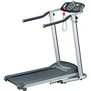 Exerpeutic Fitness Walking Electric Treadmill with Extra-Long Safety Handles