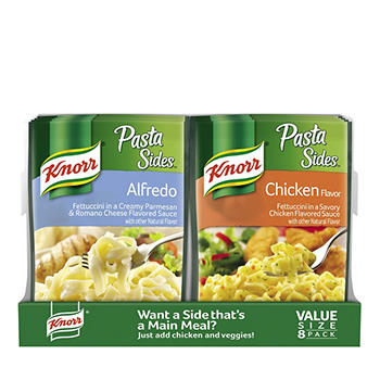 Knorr Alfredo And Chicken Pasta Sides Bjs Wholesale Club