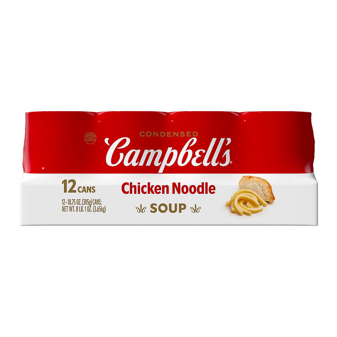Campbell's Chicken Noodle Soup, 12 pk /10 75 oz