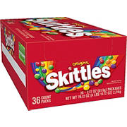 Skittles Original Candies, 2.17 oz.- 36 pk.