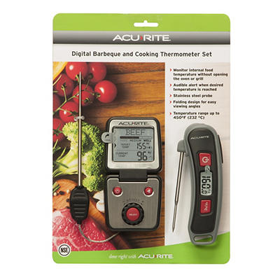 AcuRite 2-Pc. BBQ Thermometer Set