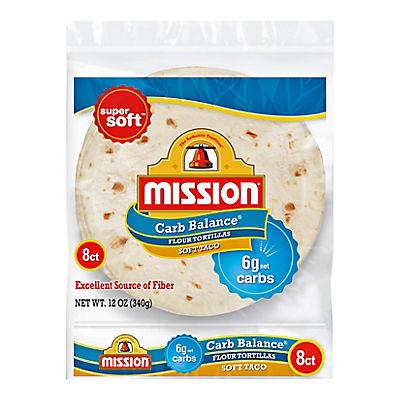 Mission Carb Soft Taco, 8 ct./12 oz.