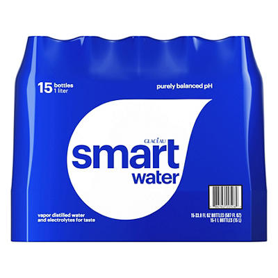 Glaceau Smartwater, 15 pk./33.8 fl. oz.