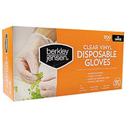 Berkley Jensen Large Disposable Vinyl Gloves, 200 ct. - Clear