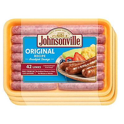 Johnsonville Breakfast Sausages, 3 pk./14 ct.