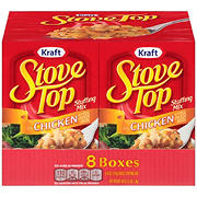 Kraft Stove Top Stuffing Mix for Chicken with Real Chicken Broth, 8 pk./6 oz.