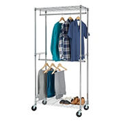 Home Storage Space Garment Rack - Chrome