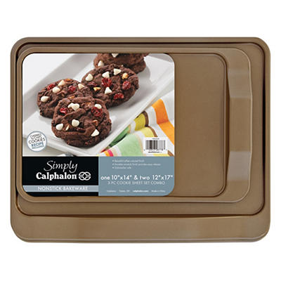 Calphalon 3-Pc. Cookie Sheet Set