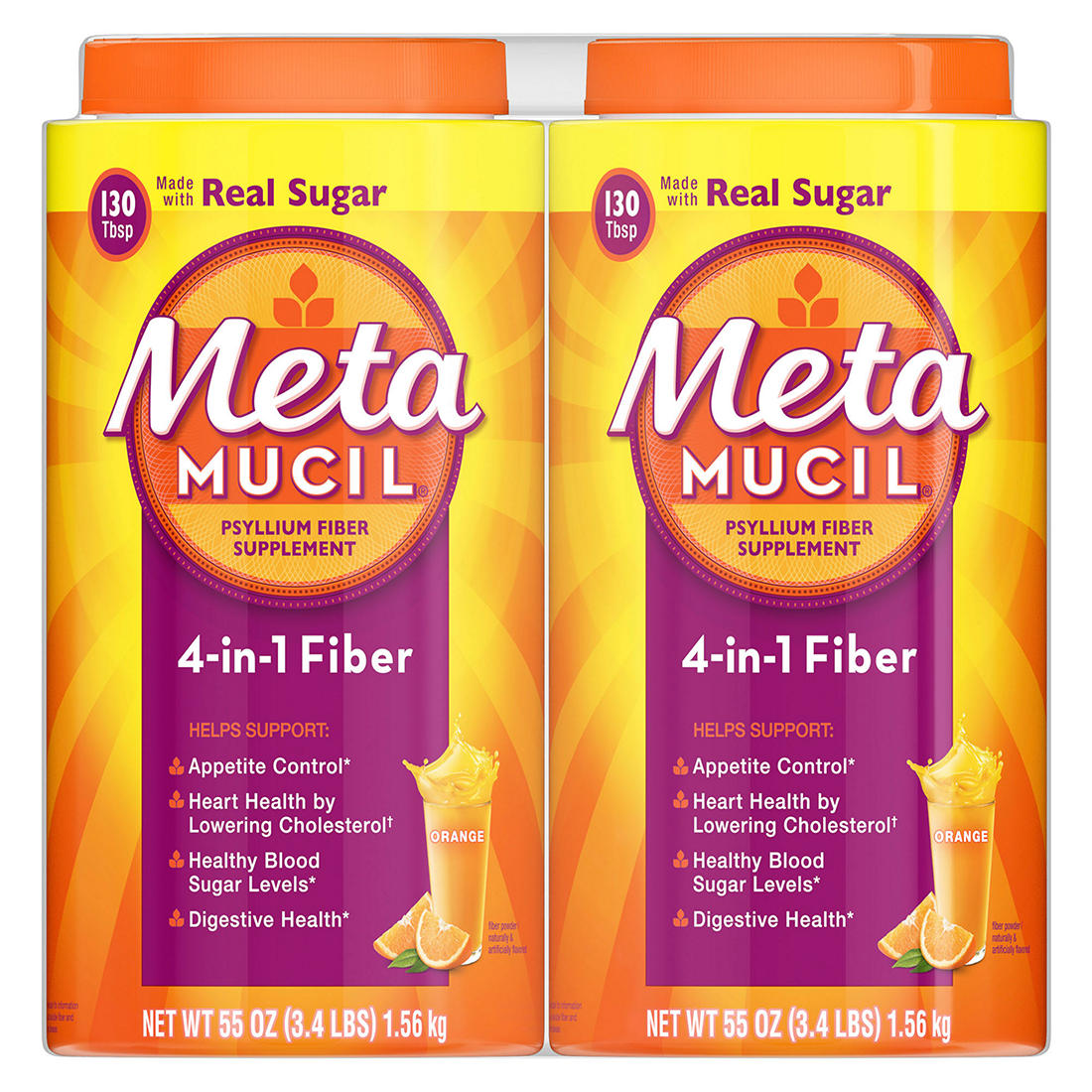 photo regarding Metamucil Coupons Printable identified as Metamucil Fiber, 4-within just-1 Psyllium Fiber with True Sugar, Orange Gentle Flavored Consume, 260 Servings