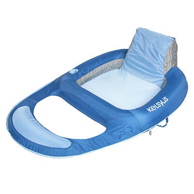 Kelsyus Premium Floating Lounger - Blue