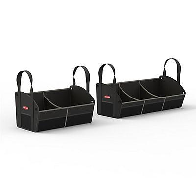 Rubbermaid 2-Pc. Polyester Trunk Storage Set - Black