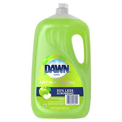 Dawn Ultra Apple Blossom Antibacterial Dishwashing Liquid Soap, 90 fl.
