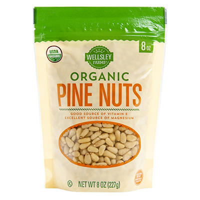 Wellsley Farms Organic Pine Nuts, 8 oz.