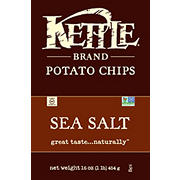 Kettle Sea Salt Potato Chips, 16 oz.