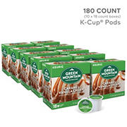 Green Mountain Coffee Roasters Caramel Vanilla Cream Light Roast Coffee Keurig Single-Serve K-Cup Pods, 10 pk./18 ct.