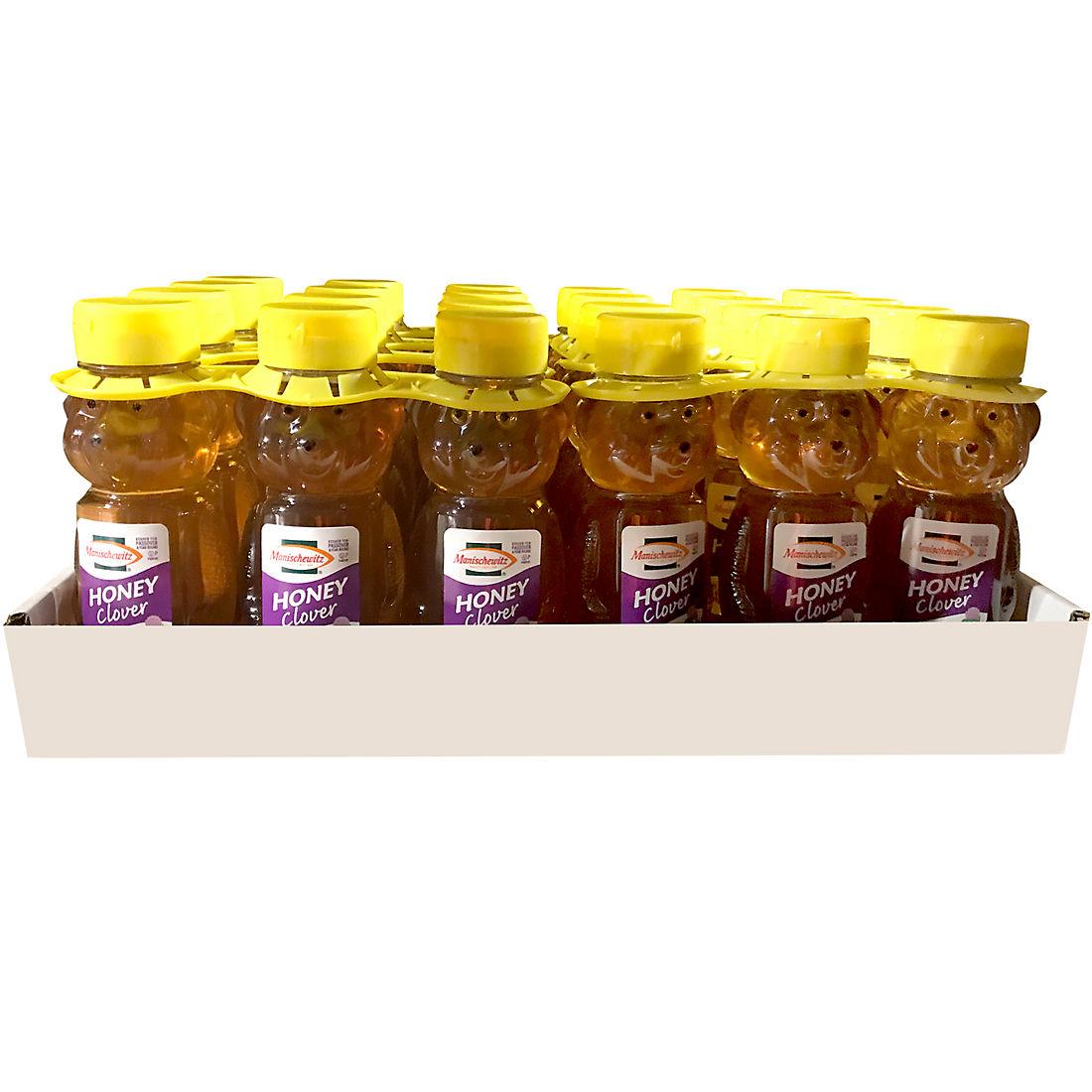 Manischewitz Clover Honey Bear, 3 pk /12 oz