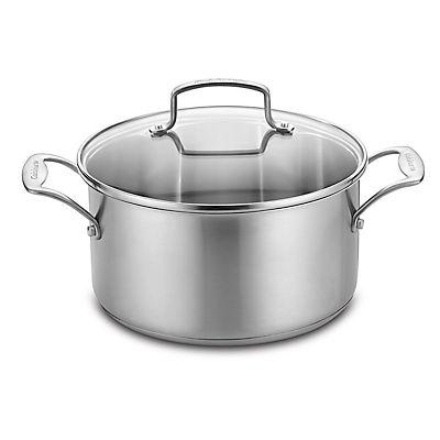 Cuisinart 6-Qt. Stainless Steel Dutch Oven