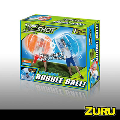 X Shot Bubble Ball - Blue