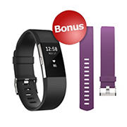 Fitbit Charge HR 2 Wireless Activity Tracker with Bonus Band - Small
