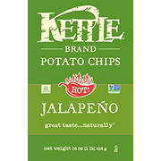 Kettle Jalapeno Potato Chips, 16 oz.