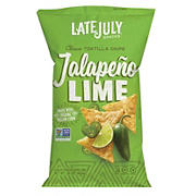 Late July Jalapeno Lime Tortilla chips, 16 oz.