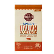 Wellsley Farms Fresh Sweet Italian Sausages, 2 pk./1.5 lbs.