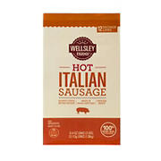 Wellsley Farms Fresh Hot Italian Sausage, 2 pk./1.5 lbs.