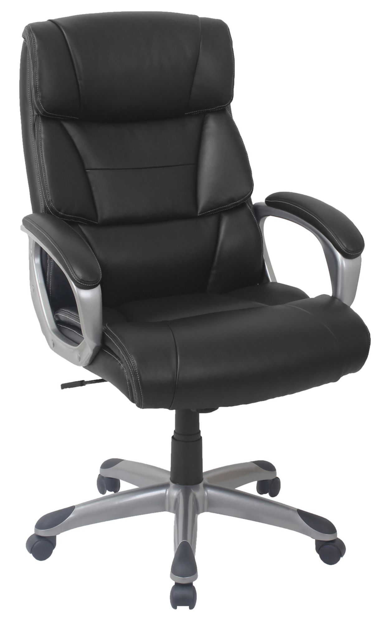Use + and - keys to zoom in and out arrow keys move the zoomed portion of the image  sc 1 st  BJs.com & Berkley Jensen Bonded Leather Manager Chair - Black/Gray - BJs ...