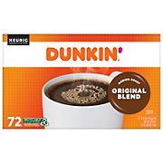 Dunkin' Donuts Original Blend K-Cup Pods, 72 ct.