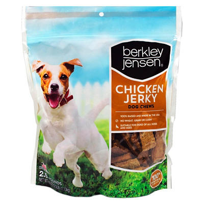 Berkley Jensen Chicken Jerky Dog Chews, 40 oz.