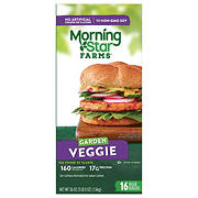 MorningStar Farms Garden Veggie Burgers, 16 ct.