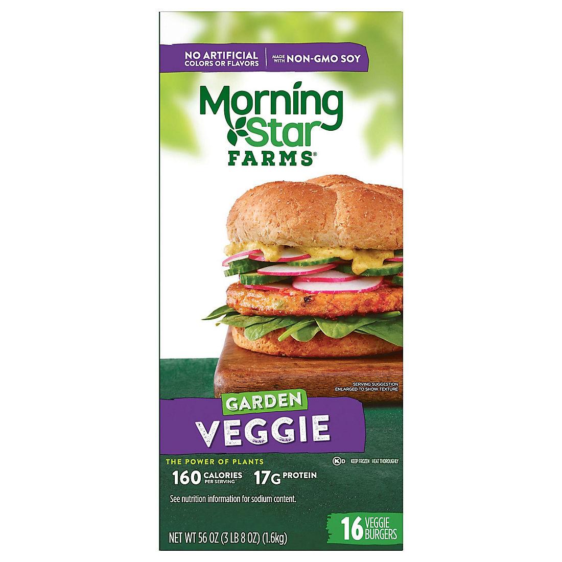 Morningstar Farms Garden Veggie Burgers 16 Ct