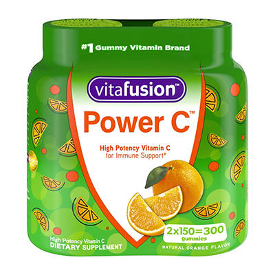 Vitafusion Power C Gummy Vitamin, 2 pk./150 ct.