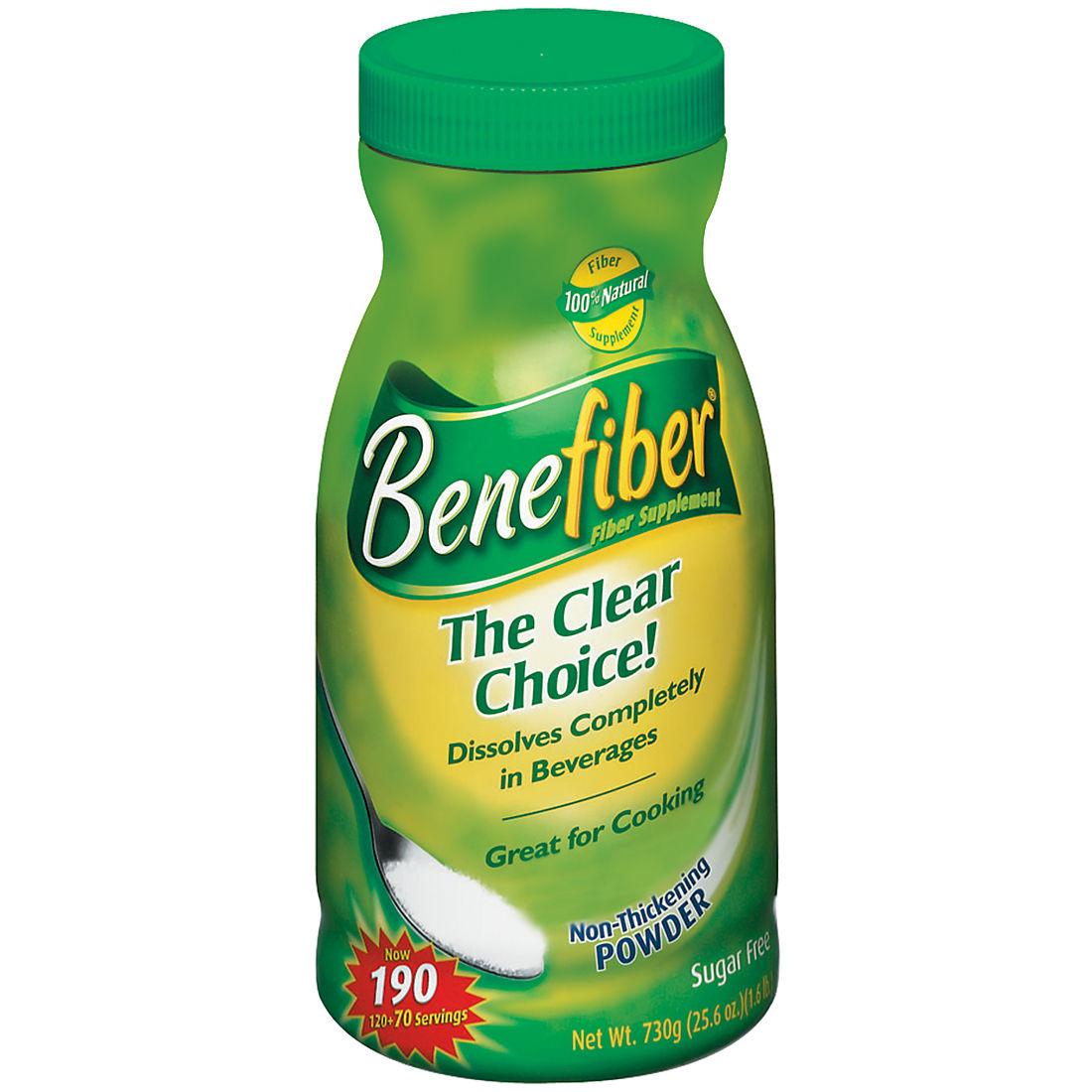 Benefiber Powder Fiber Supplement, 190