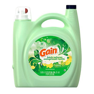 Gain Original Scent Liquid Fabric Softener, 170 fl. oz.