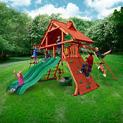 Gorilla Playsets Grand Prix Swing Set