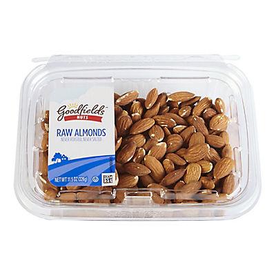 Goodfield's Raw Almonds, 11.5 oz.