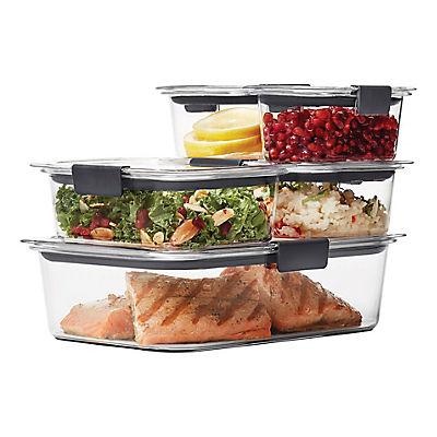 Rubbermaid Brilliance 10-Pc. Food Storage Set