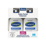 Cetaphil Daily Facial Cleanser, 2 pk./20 fl. oz.