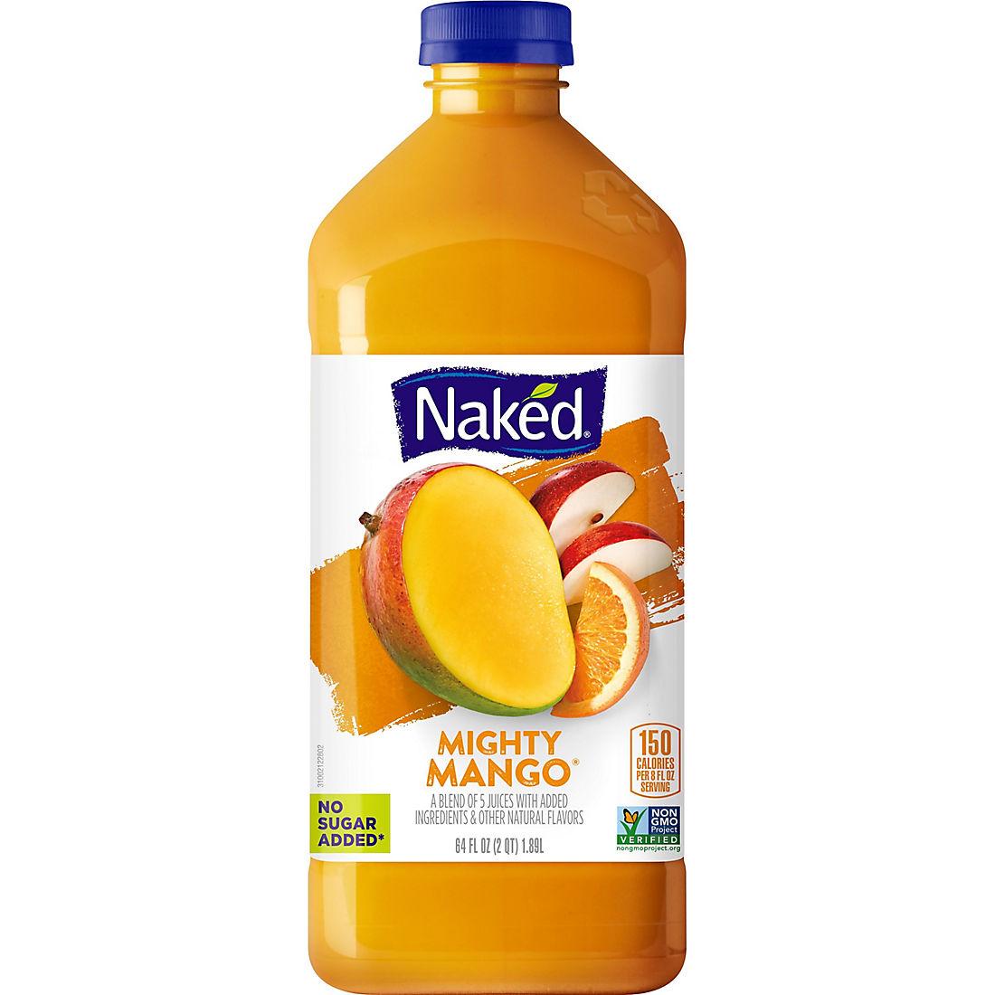 Naked Mighty Mango Juice Smoothie  Oz Bjs Wholesale Club