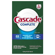 Cascade Complete Powder Dishwasher Detergent, 155 oz.