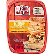 Hillshire Farm Ultra Thin Rotisserie Seasoned Chicken Breast Sliced Lunchmeat, 32 oz.