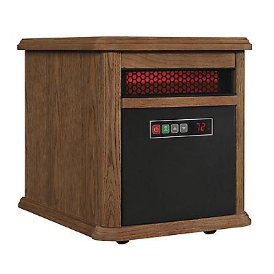 Duraflame 5,200-BTU Portable Electric Infrared Quartz Heater - Oak