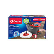 O-Cedar Easy Wring Spin Mop and Bucket with Bonus Refills