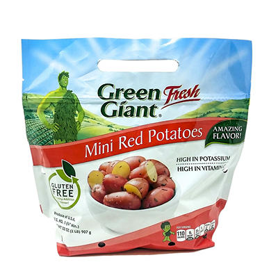 Green Giant Mini Red Potatoes. 2 lbs.