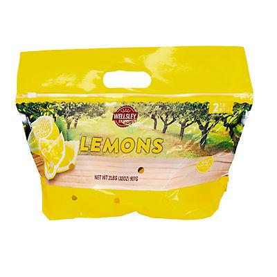 Wellsley Farms Lemons, 2 lbs.
